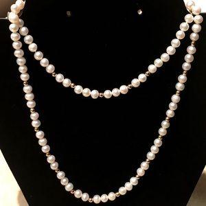 10K Pearl Set